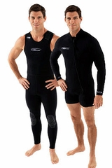 NeoSport 3mm two piece Wetsuit Combo Mens Wetsuit