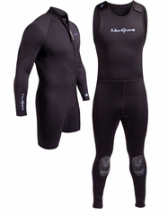 NeoSport 5mm 2-Piece Wetsuit Combo Two Piece