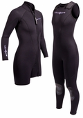 NeoSport 7mm Womens 2 Piece Wetsuit�Combo Farmer John by Henderson