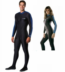 NeoSport by Henderson Skin Suit Sport Skin Blue and Black