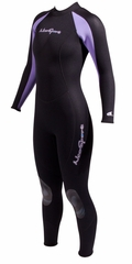 Neosport by Henderson Womens�7/5mm Wetsuit Jumpsuit