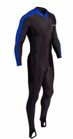 NeoSport Lycra Bodysuit Sport Skin Mens Womens  50+ UV - Black