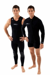 NeoSport  Men's 5mm Farmer John Wetsuit Combo
