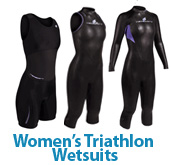 NeoSport Women's Triathlon Wetsuits & Ion Racesuit