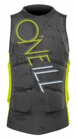 O'Neill Gooru Comp Wakeboard and Waterski Vest - Graphite/Lime