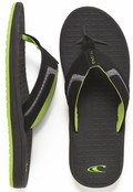 O'Neill Gooru Sandals Men's Flip Flop - Black