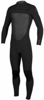 O'Neill Superfreak Wetsuit Men's 4/3mm F.U.Z.E. Zip Wetsuit Chest Entry - Redesigned