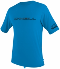 O'Neill Mens Rashguard Loose Fit Rash Tee 50+ UV Protection - Bright Blue