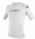 O'Neill Mens Skins Short Sleeve Rashguard 50+ UV Protection