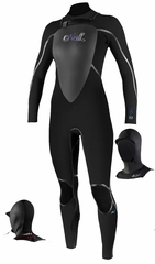 O'Neill Mod 5/4/3 Hooded Full Suit Wetsuit Women's Modular Hood - New Model!