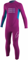 O'Neill�Reactor Toddler Full Wetsuit 2mm Kids Wetsuit�- Pink
