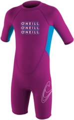 O'Neill�Reactor Toddler Springsuit Wetsuit 2mm�- Pink