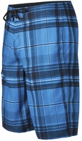 O'Neill Santa Cruz Plaid Boardshorts - Blue