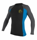 O'Neill Skins Long Sleeve Graphic Crew Rashguard 50+ UV Protection