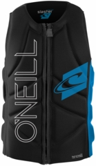O'Neill Slasher Comp Wakeboard and Waterski Vest - Black/Blue