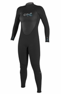 O'Neill Women's Epic 4/3mm Full Wetsuit - Black/Blue