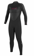 O'Neill Women's Epic 4/3mm Full Wetsuit - Black/Grey