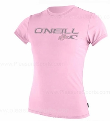 O'Neill Womens Rashguard Rash Tee 50+ UV Protection