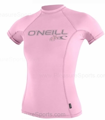 O'Neill Womens Skins Short Sleeve Rashguard 50+ UV Protection