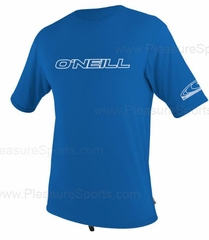 O'Neill Youth Rashguard Loose Fit Rash Tee 50+ UV Protection - Blue