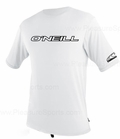 O'Neill Youth Rashguard Loose Fit Rash Tee 50+ UV Protection - White
