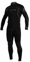 ONeill Men's Psycho 1 Zen Zip FSW 4/3mm Wetsuit - NEW REDESIGNED