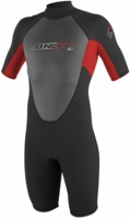 Oneill�Reactor Youth Springsuit Wetsuit 2mm�-Blk/Red