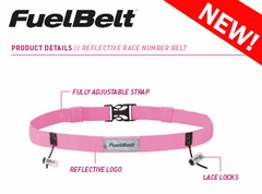 Pink Reflective Race Fuel Belt