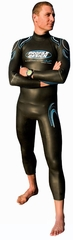 Profile Design by Aquaman Men's Metal Cell 2 Triathlon Wetsuit