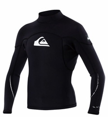 Quiksilver 1.5mm Syncro Jacket Black Neoprene Jacket - Closeout!
