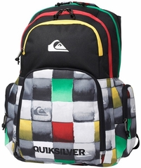 Quiksilver 1969 Special Back Pack - Black/Rasta