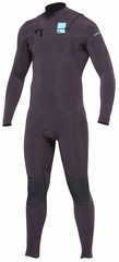 Quiksilver 3/2 Iginte Heather Chest Zip Wetsuit - Newest Model!