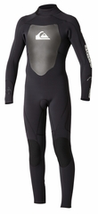 Quiksilver 3/2mm Syncro Flatlock Boys Wetsuit 3/2mm - Black