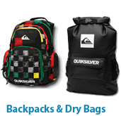 Quiksilver Backpacks and Dry Bags