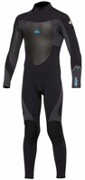 Quiksilver Boys 3/2mm Syncro Flatlock Back Zip Wetsuit