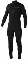 Quiksilver Cypher Men's 4/3mm Chest Zip Wetsuit