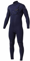Quiksilver Cypher Wetsuit 3/2mm Monochrome Chest Zip - Blue