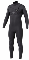 Quiksilver Cypher Wetsuit 3/2mm Monochrome Chest Zip - Grey 2013