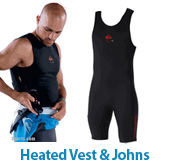 Quiksilver Heated Vests, John, and Battery