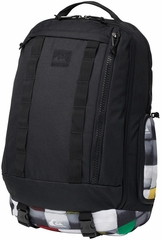 Quiksilver Holster Back Pack - Laptop Backpack - Black/Rasta