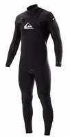 Quiksilver Ignite 3/2 LFS Chest Zip Wetsuit Black/Grey