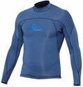 Quiksilver Men's 2mm Ignite Jacket Monochrome Neoprene - Blue