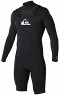Quiksilver Men's Ignite Long Sleeve Springsuit - Chest Zip!