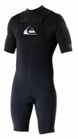 Quiksilver Men's Ignite Short Sleeve Springsuit - Chest Zip!