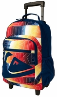 Quiksilver Roll On Back Pack - Blue/Multi Color!