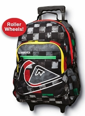 Quiksilver Roll On Back Pack - Rasta Color