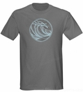Quiksilver Simple Lines T-Shirt Wave