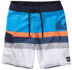 "Quiksilver Men's Boardshorts Slater 19"" - Blue/White"