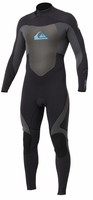 Quiksilver Syncro 3/2 Flatlock Mens Wetsuit - Bllk/Grey - Closeout!