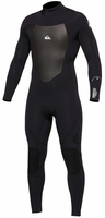 Quiksilver Syncro 3/2 GBS Back Zip Mens Wetsuit - Black - Latest Model!